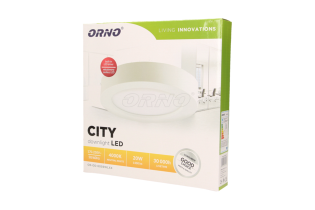 CITY LED 20W balení